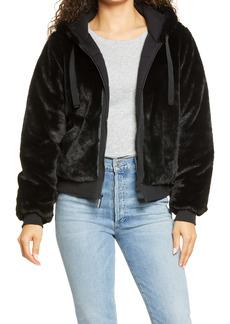 Marc New York Performance Women's Faux Fur Jacket