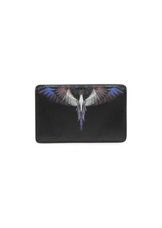Marcelo Burlon Wings leather cardholder