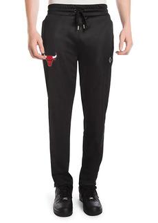 Marcelo Burlon Chicago Bulls Logo Track Pants