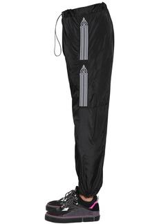 Marcelo Burlon County Tape Nylon Track Pants
