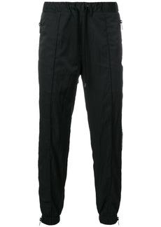 Marcelo Burlon side zipped track pants