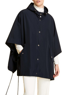 Marina Rinaldi Hooded Nylon Rain Cape (Plus Size)