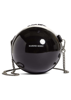 Marine Serre Mini Logo Ball Crossbody Bag
