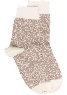 Marni abstract pattern socks