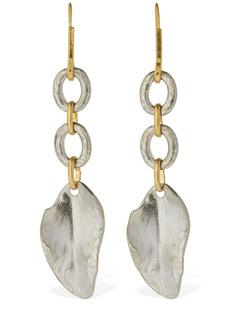 Marni Bicolor Leaf Drop Earrings