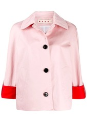 Marni boxy colour-block jacket