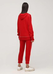 Marni Logo Cashmere & Wool Zip-up Hoodie
