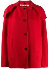 Marni cashmere short buttoned coat
