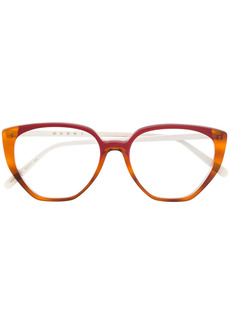 Marni cat eye frame glasses