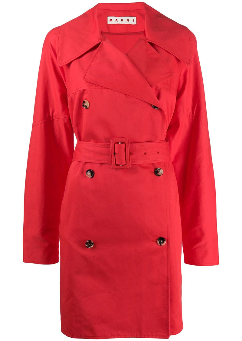 Marni double-breasted trench coat