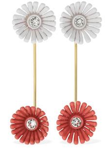 Marni Double Flower Earrings