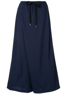 Marni drawstring waist cropped trousers
