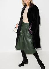 Marni faux-leather panelled coat