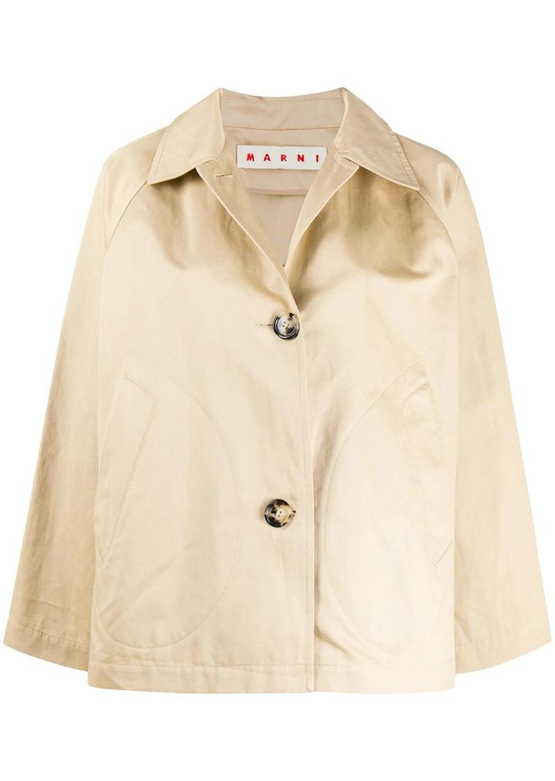 Marni flared buttoned jacket