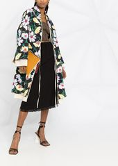 Marni floral-print oversized coat