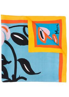 Marni floral print scarf