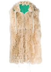 Marni hooded zip-up waistcoat