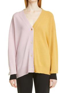 Marni Colorblock Cashmere & Wool Cardigan