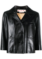 Marni cropped sleeve blazer jacket