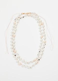 Marni Glass Pearl Necklace