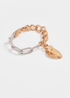 Marni Leaf Chain Bracelet