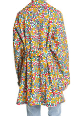 Marni Pop Garden Floral Print Trench Coat