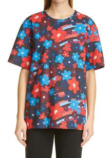 Marni Rainbow Flower Print T-Shirt