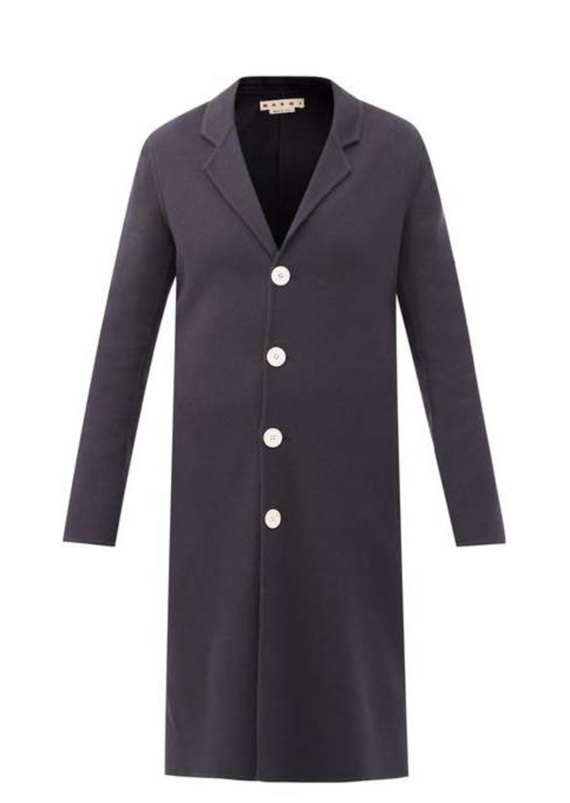 Marni Single-breasted wool-blend coat