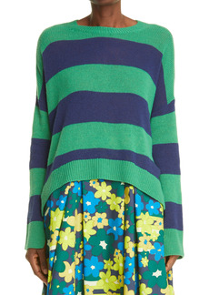 Marni Stripe Reversible Wool & Cashmere Sweater