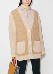 Marni panelled cardi-coat