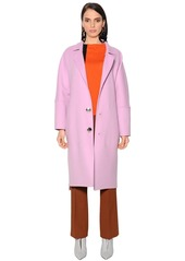 Marni Oversized Wool Blend Coat