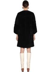Marni Reversible Glacé Shearling Coat