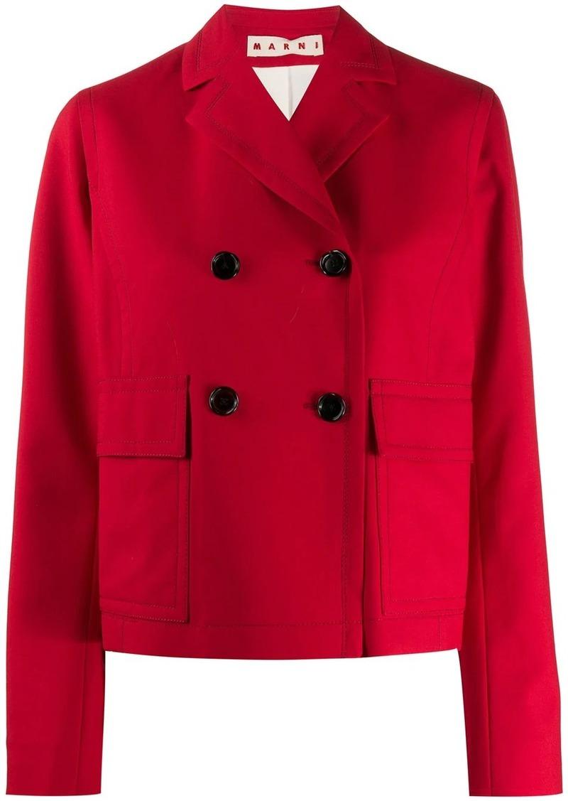 Marni short double-breasted jacket