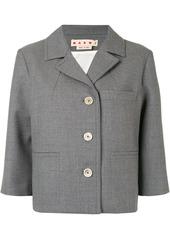Marni single-breasted wool jacket