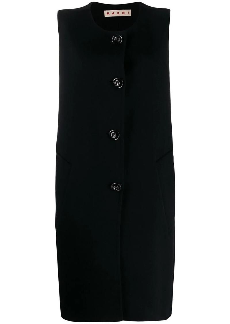 Marni sleeveless coat