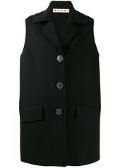 Marni sleeveless midi coat