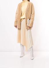 Marni V-neck shearling cardigan