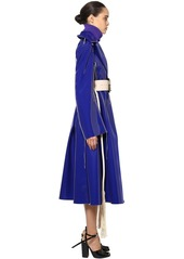 Marni Waterproof Faux Patent Leather Coat
