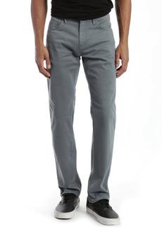 Mavi Jeans Zach Straight Leg Pants (Stormy Weather Sateen)