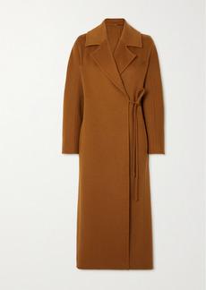 Max Mara Camel Hair Wrap Coat