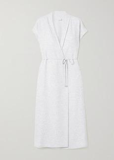 Max Mara Leisure Eden Belted Cotton-blend Jersey Vest
