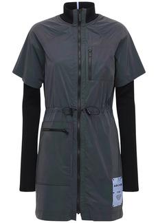 McQ Alexander McQueen Arcade Reflective Tech Dress