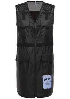 McQ Alexander McQueen Foam Nylon Utility Vest Dress