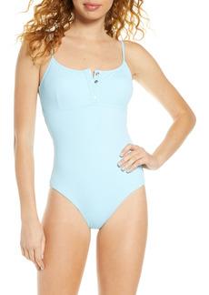 Women's Melissa Odabash Calabasas Ribbed One-Piece Swimsuit