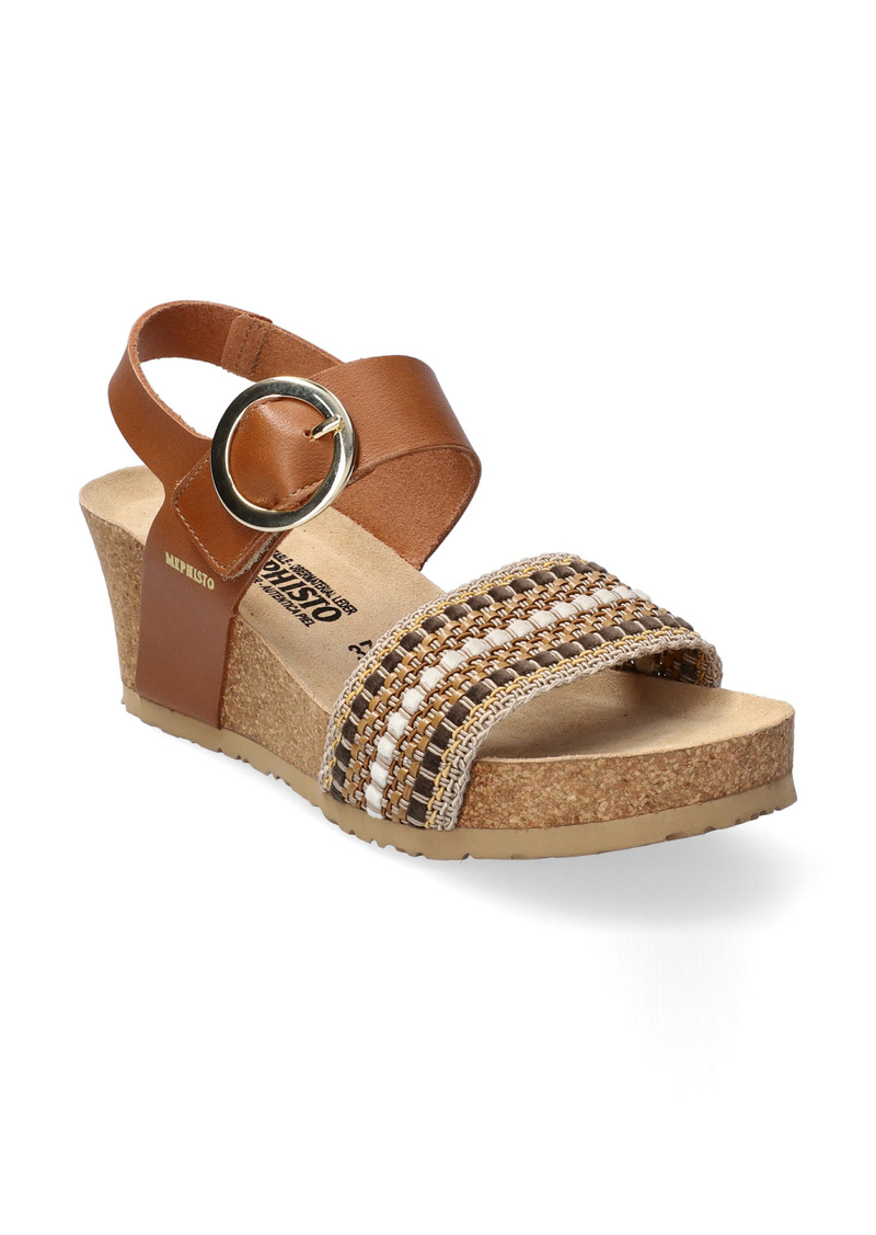 Mephisto Laure Wedge Slingback Sandal (Women)