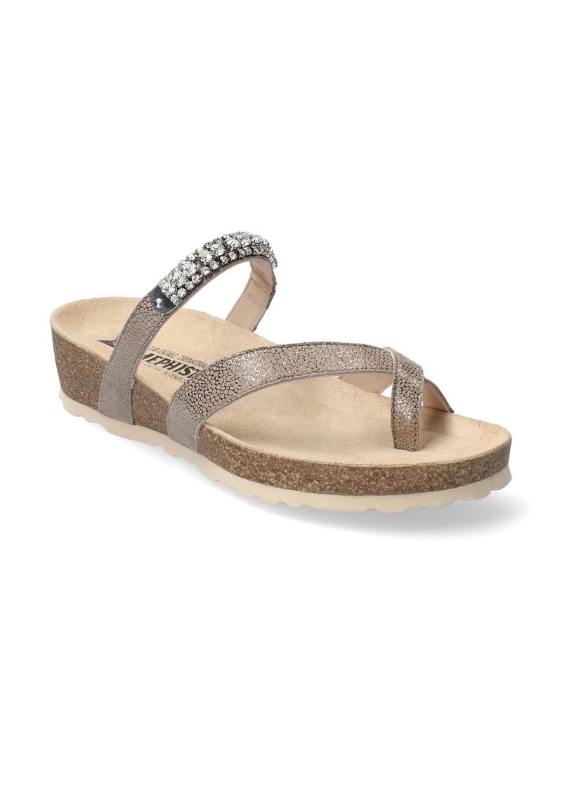Mephisto Solaine Crystal Embellished Sandal (Women)