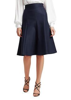 Michael Kors A-Line Knee-Length Skirt