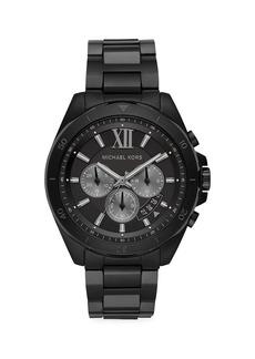 Michael Kors Brecken Black Stainless Steel Bracelet Chronograph Watch
