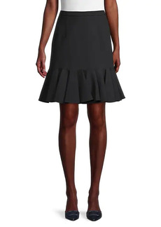 Michael Kors Flounce-Hem Skirt