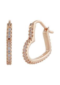 Michael Kors Kors Love Mini Heart Hoop Earrings
